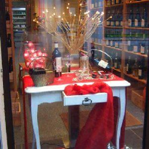 Cave à vin/Noël. Photos : tous droits réservés : (articles L 335-2 et L 716-9 du CPI)